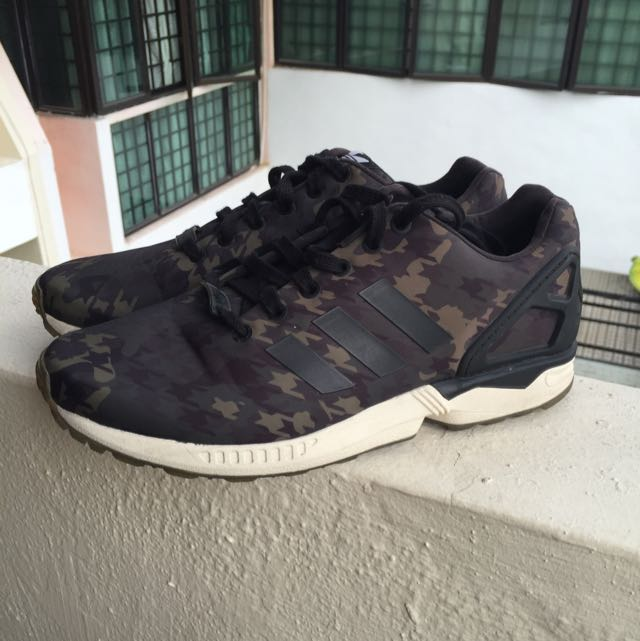 best service 82103 0571a Adidas ZX Flux X Italia Independent X Houndstooth Camo - Limited ...