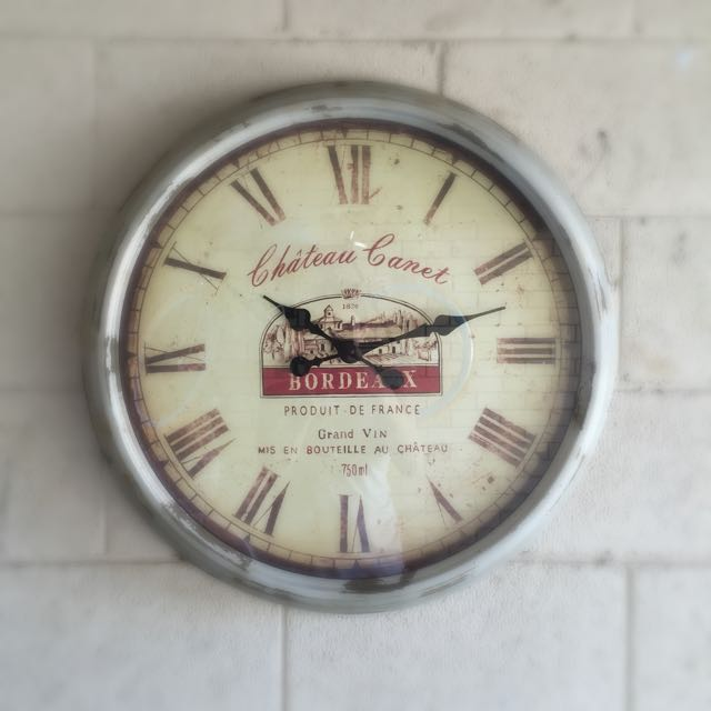 Antique Style Large Clock