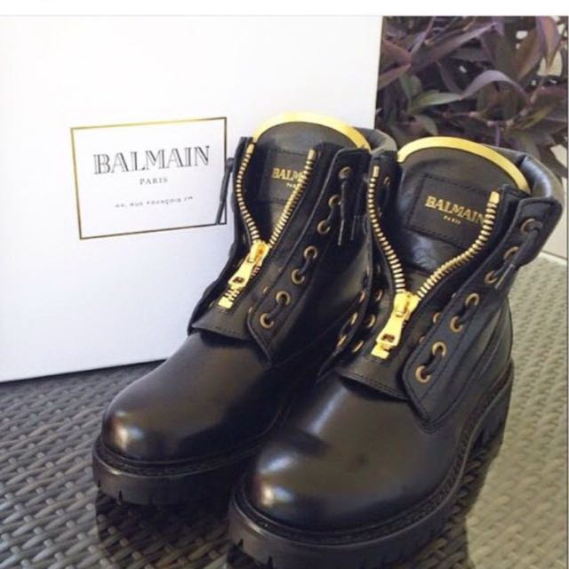 Authentic Balmain Boots