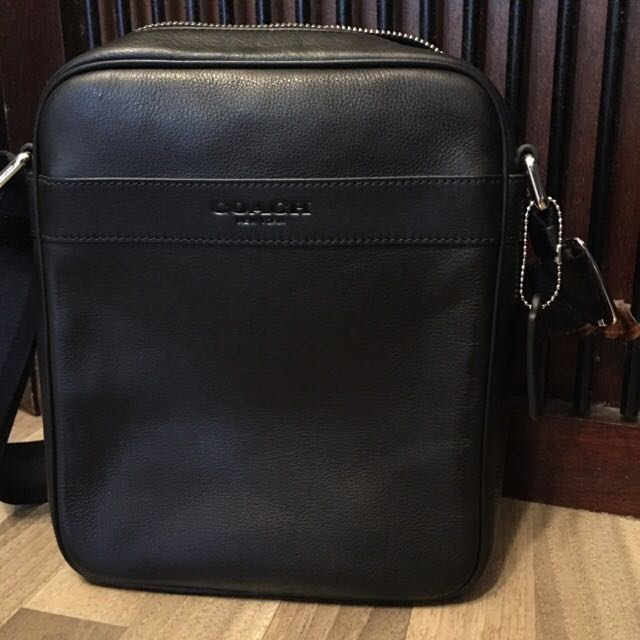 3fd4d4e68f ... promo code for authentic brand new coach flight bag in smooth leather  f71723 black luxury on