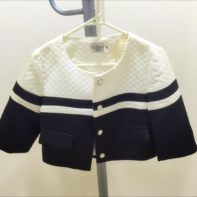 Black & White Casual Jacket