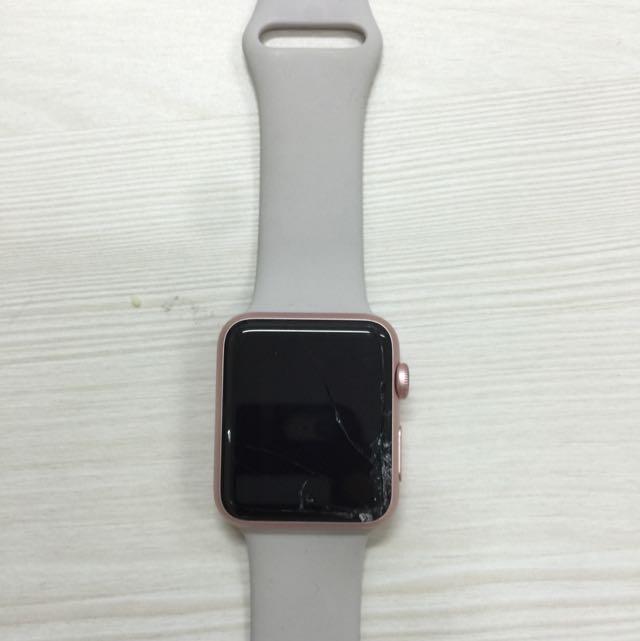 crack screen apple watch