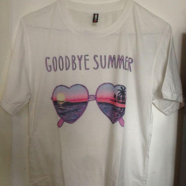 GOODBYE SUMMER T-shirt