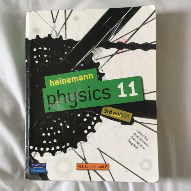 Heinemann Physics 11 3rd Edition