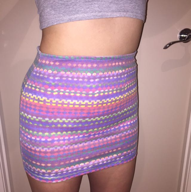 """""""I Don't Know Why"""" Mini Skirt"""