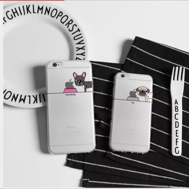 現貨✨下殺✨超可愛狗狗iPhone 手機殼🐶軟殼