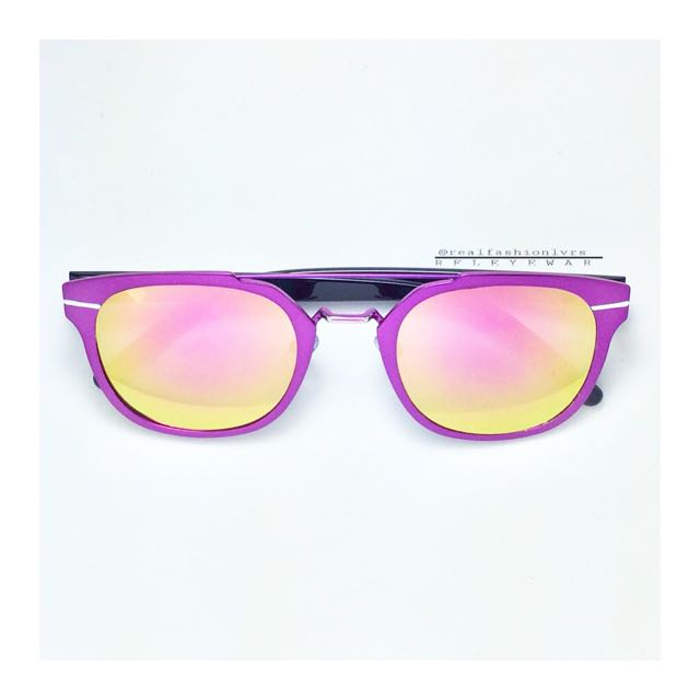 MEELA Sunglasses Shocking Pink