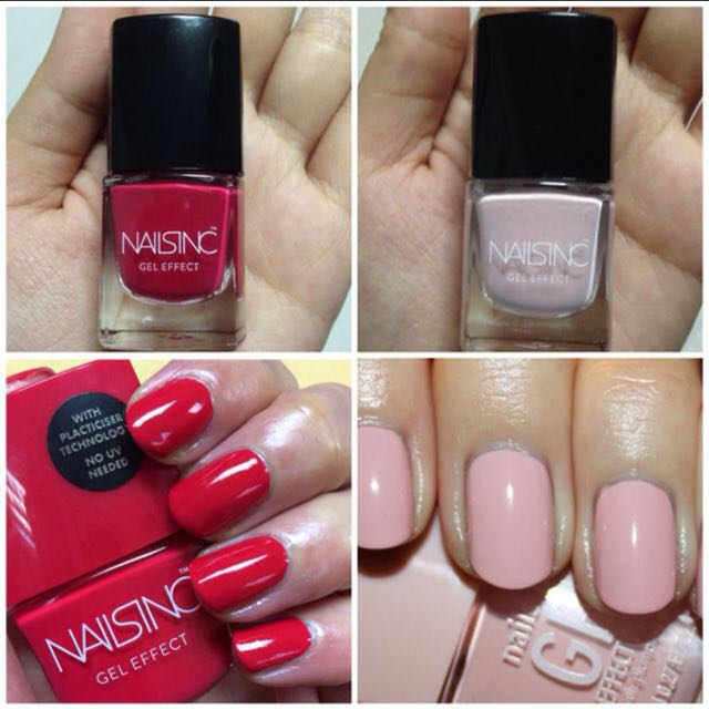 Nailsinc Gel Effect Nail Polish Mini (Mayfair Lane)