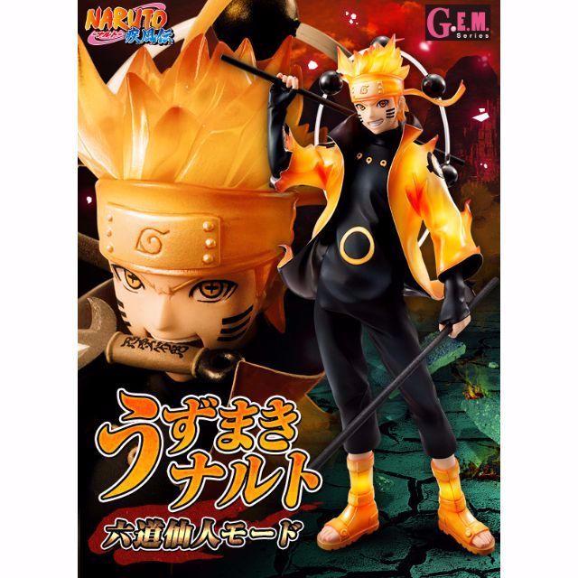 [PO] Naruto Shippuden GEM Uzumaki Naruto Rikudou Sennin