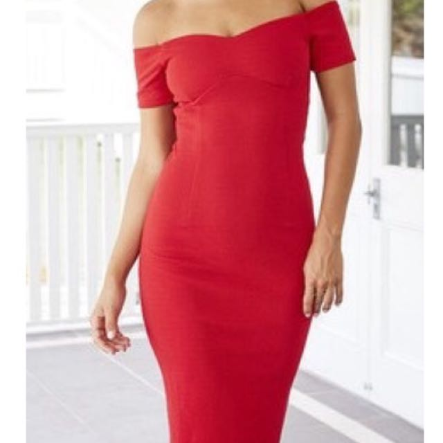 Red Lost Lovers Dress