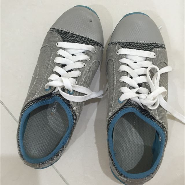 Running Bare Blue/Grey Sport Shoes