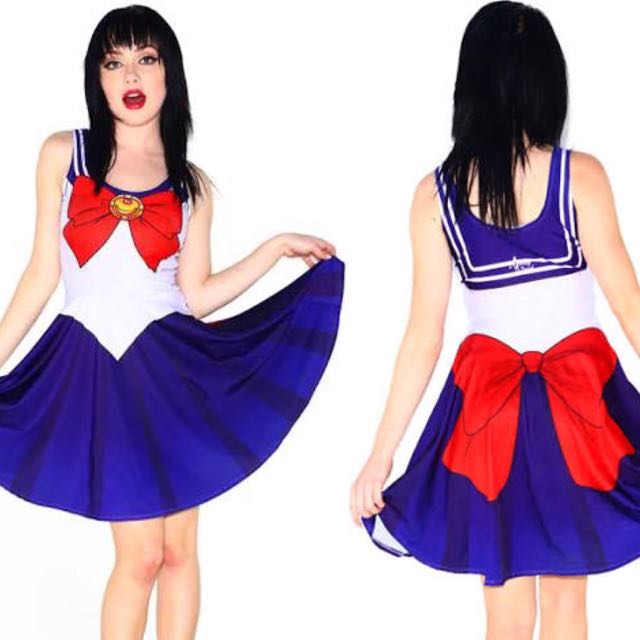 -- PENDING -- Sailor Moon Skater Dress ++ BRAND NEW++ AUS MEDIUM Cosplay Kawaii Costume Japan Sailor Scouts