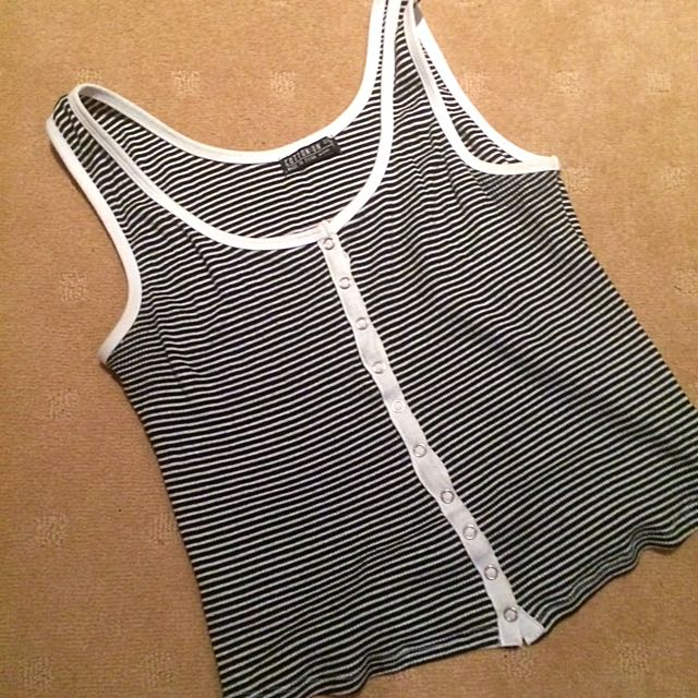 Striped Tank Top - Size 12