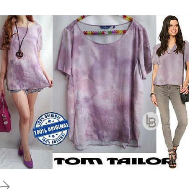 Tom Tailor Blouse (pink Cloud)