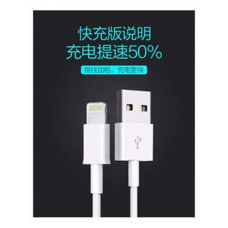 Apple Lightning Charging Cable for Apple iPhone iOS