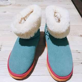 專櫃miss21雪靴 絕版款泰瑞配色