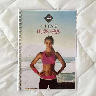 FITAZ In 28 Days Exercise Book