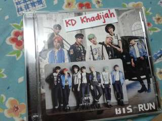 [READY STOCK] BTS 6th Japanese single Run