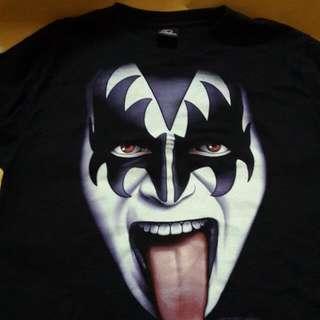 Kiss Gene Simmons Black T-Shirt