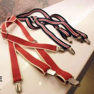 雙色彈性吊帶
