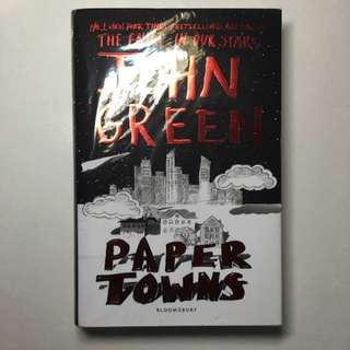 Paper Towns By John Green (hardcover)