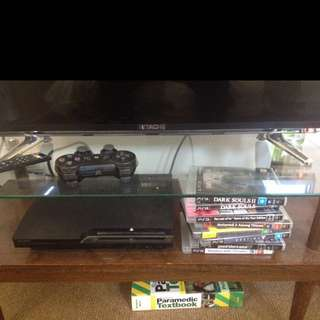 PS3 + 8 Games
