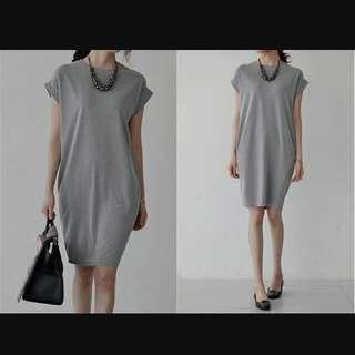 Brand New Grey Oversized Dress