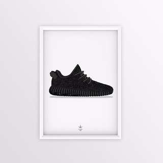 ADIDAS YEEZY BOOST 350 POSTER
