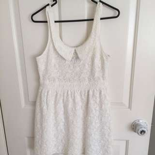 Alice In The Eve White Dress Size 10