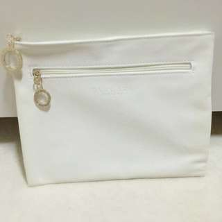 Bvlgari Perfumes Faux Leather Make Up Pouch