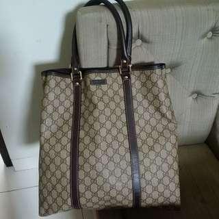 Gucci Waterproof Monogram Tote Authentic Bag