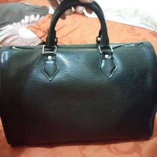 LV Epi Leather Speedy Authentic Bag
