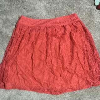 Jay Jays Floral Lace Skater Skirt