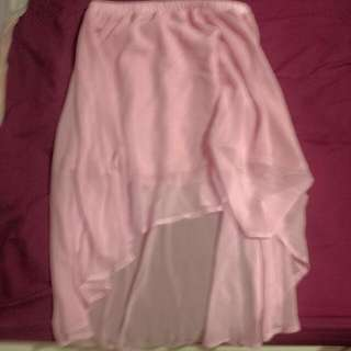 Supre High Low Pink Skirt M