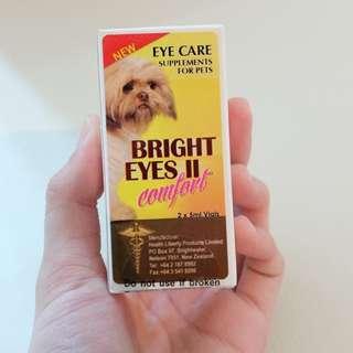 Bright eyes 寵物睛亮滴劑 白內障 醫師推薦最有效