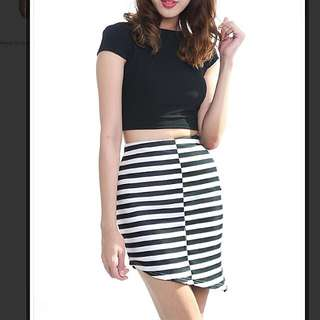 3 For RM50 MDS Stripes Skirt
