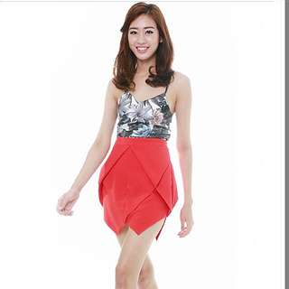 3 For RM50 MDS Red Skirt