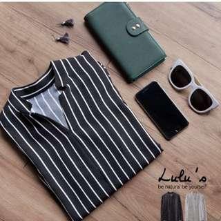Lulu's襯衫直紋