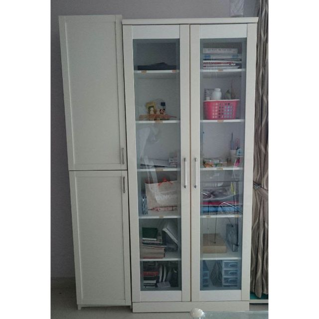 2-Doors Tall Cabinet in Excellent Condition