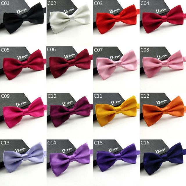 48 Colors Bow Ties