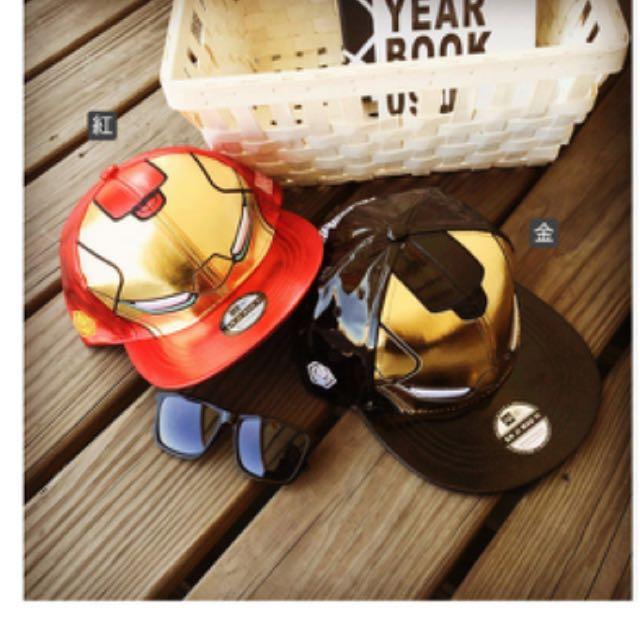 鋼鐵人潮帽