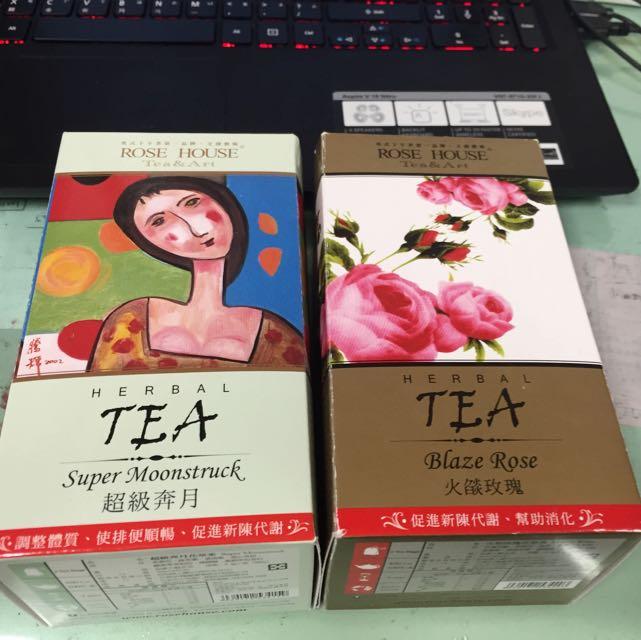 古典玫瑰園 喝了很順暢茶 超香超有效