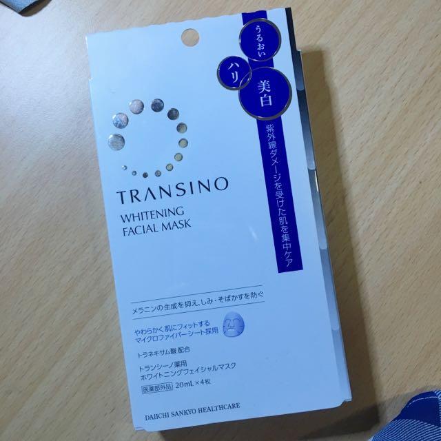 東京連線✨✨第一三共 傳明酸美白 保濕 多功能 面膜