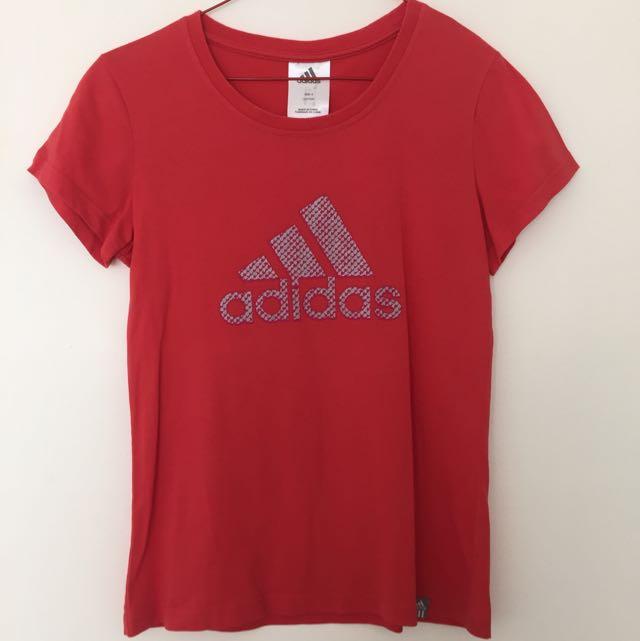 Adidas Tee Size 8