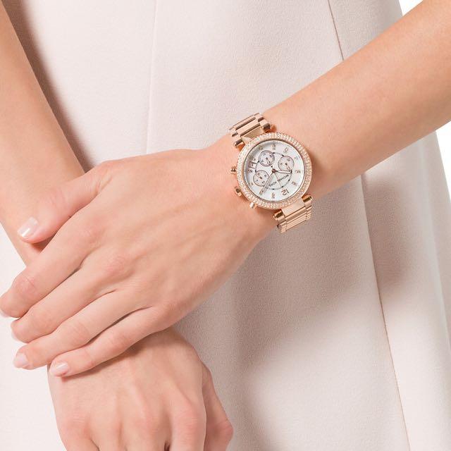 Authentic Michael Kors Diamante Bracelet Watch