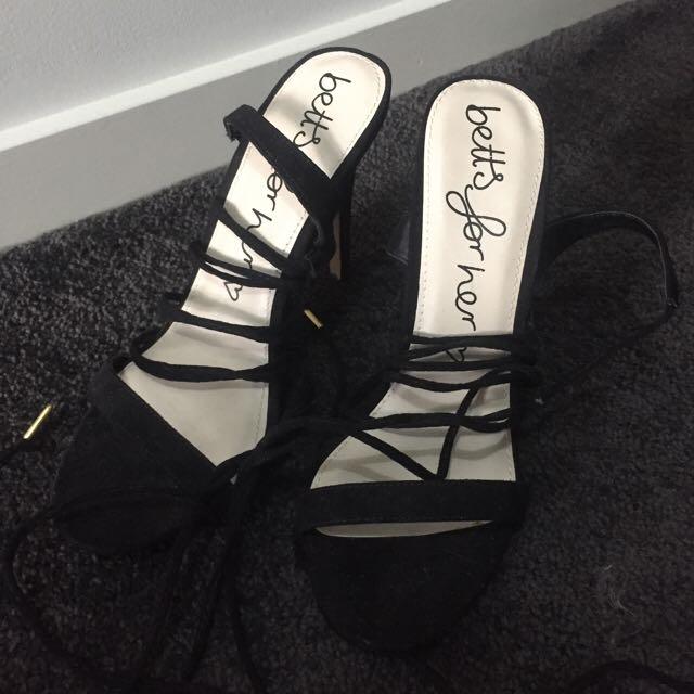 betts for her heels