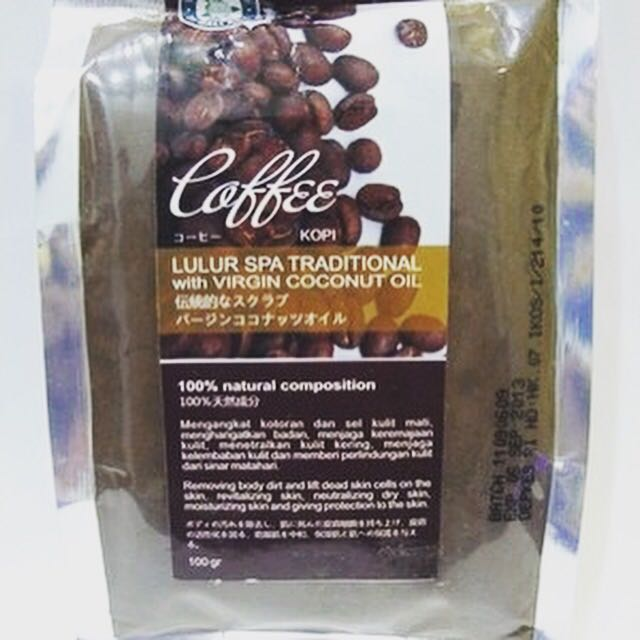 Bali Alus Coffee Scrub