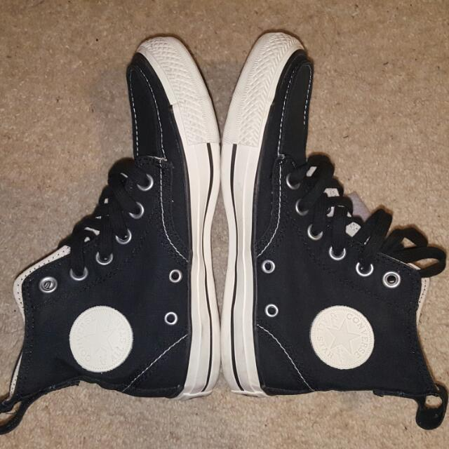 NEW Converse Black All Star Chuck Taylor Sneakers (Size 3)
