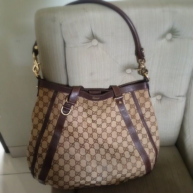 Gucci Abbey Hobo Authentic Bag