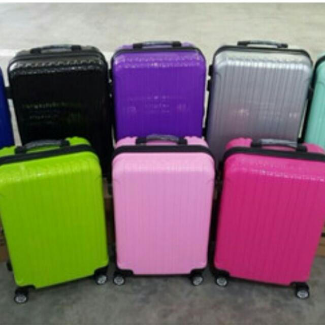 60b40ee1162 ☆INSTOCK☆New Arrival 5 Colours☆Hard Shell 8 Wheel Spinner Deluxe ...